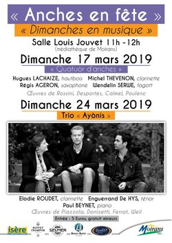 Semaine des anches