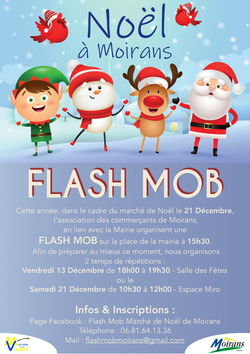Flash mob de Noël